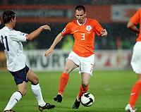 Fotball , 10. juni 2009 , EM-kvalifisering , Nederland - Norge 2-0<br /> <br /> Andre Ooijer , Nederland