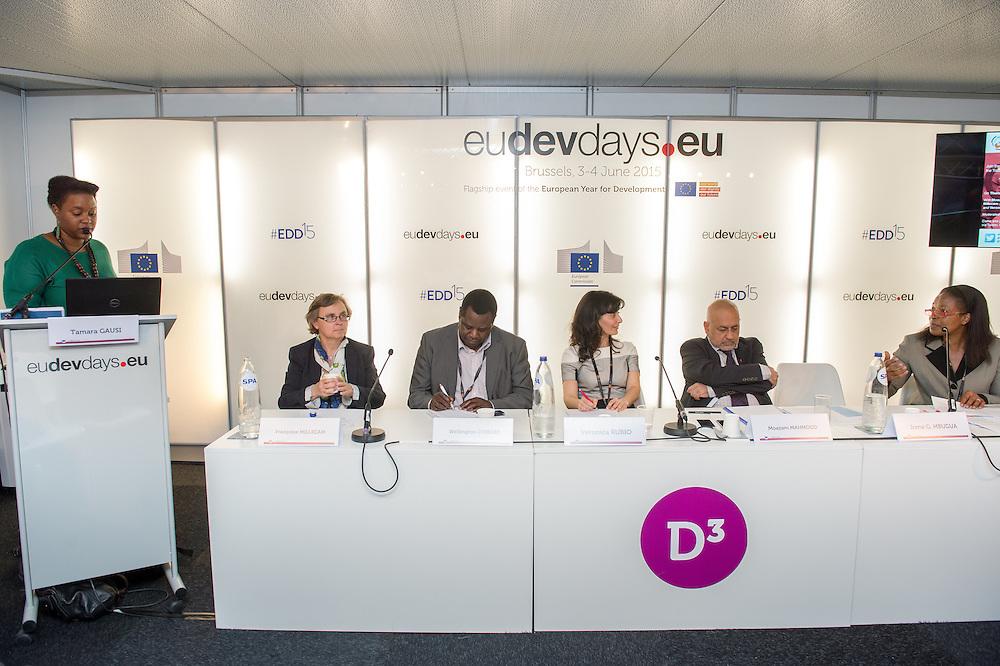 04 June 2015 - Belgium - Brussels - European Development Days - EDD - Jobs - Developing with decent work © European Union