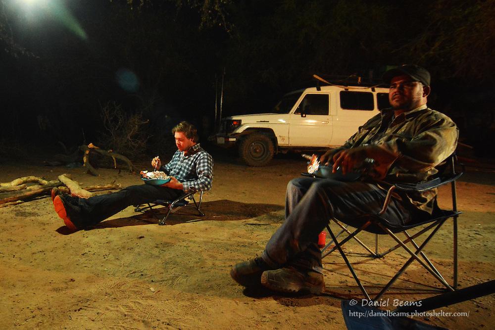 Camping in Yapiroa, a Guarani community in Isosog, Santa Cruz, Bolivia