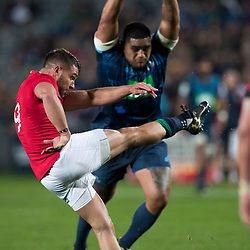 Rhys Webb, Eden Park, Auckland game 2 of the British and Irish Lions 2017 Tour of New Zealand,The match between the Auckland Blues and British and Irish Lions, Wednesday 7th June 2017   <br /> <br /> (Photo by Kevin Booth Steve Haag Sports)<br /> <br /> Images for social media must have consent from Steve Haag