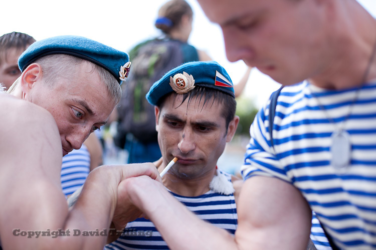 Paratroopers' Day, Moscow 2013