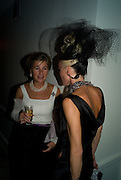 MARCHIONESS OF DOURA; DAPHNE GUINNESS, Nicky Haslam party for Janet de Botton and to celebrate 25 years of his Design Company.  Parkstead House. Roehampton. London. 16 October 2008.  *** Local Caption *** -DO NOT ARCHIVE-© Copyright Photograph by Dafydd Jones. 248 Clapham Rd. London SW9 0PZ. Tel 0207 820 0771. www.dafjones.com.