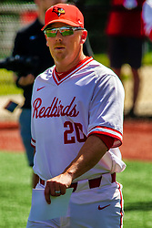20 May 2019: Steve Holm.  Missouri Valley Conference Baseball Tournament - Southern Illinois Salukis v Illinois State Redbirds at Duffy Bass Field in Normal IL<br /> <br /> #MVCSPORTS