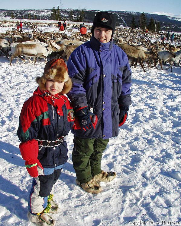 Det sørsamiske området strekker seg fra Saltfjellet i nord til Elgå i Hedmark i sør. Omfatter noen få tusen på norsk og svensk sida av grensa. The sourth sami people consists of a couple of tousand people in Mid-Norway and Mid-Sweden.