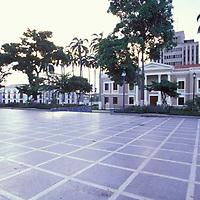Plaza Bolivar, San Felipe, Edo. Yaracuy, Venezuela.