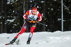 March 16, 2019 - –Stersund, Sweden - 190316 Simon Eder of Austria competes in the Men's 4x7,5 km Relay during the IBU World Championships Biathlon on March 16, 2019 in Östersund..Photo: Johan Axelsson / BILDBYRÃ…N / Cop 245 (Credit Image: © Johan Axelsson/Bildbyran via ZUMA Press)