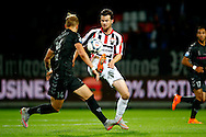 19-09-2015 VOETBAL:WILLEM II- FC UTRECHT:TILBURG<br /> <br /> Kevin Conboy van FC Utrecht in duel met Erik Falkenburg van Willem II <br /> <br /> Foto: Geert van Erven
