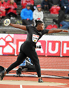 Fedrick Dacres (JAM) places second in the discus at 226-3 (68.96m) during the Bauhaus-Galan in a IAAF Diamond League meet at Stockholm Stadium in Stockholm, Sweden on Thursday, May 30, 2019. (Jiro Mochizuki/Image of Sport)