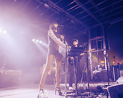 Phantogram performs at The Treasure Island Music Festival - San Francisco, CA - 10/19/13