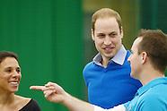 Prince William Duke of Cambridge visits Coach Core Project