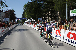 during Stage 1 of 24th Tour of Slovenia 2017 / Tour de Slovenie from Koper to Kocevje (159,4 km) cycling race on June 15, 2017 in Slovenia. Photo by Vid Ponikvar / Sportida