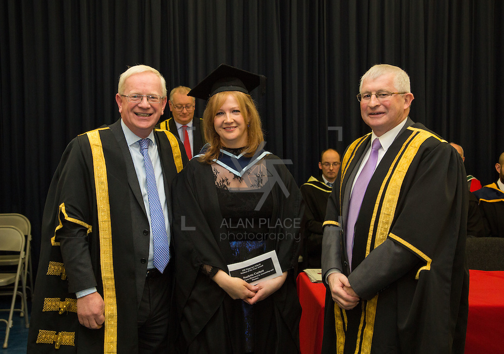 18.11.2016       <br /> Speaking at conferring ceremonies in Thurles, the President of Limerick Institute of Technology (LIT) has welcomed the publication of the Financial Review of the Institutes of Technology and called for the immediate implementation of actions to support the Technological Education sector. <br /> <br /> BA (Hons) in Accounting and Finance graduate Noelette Corbett receives Presidents Award  from  Prof. Vincent Cunnane President LIT and Mr. Simon Moroney, Governing Body LIT. Picture: Alan Place