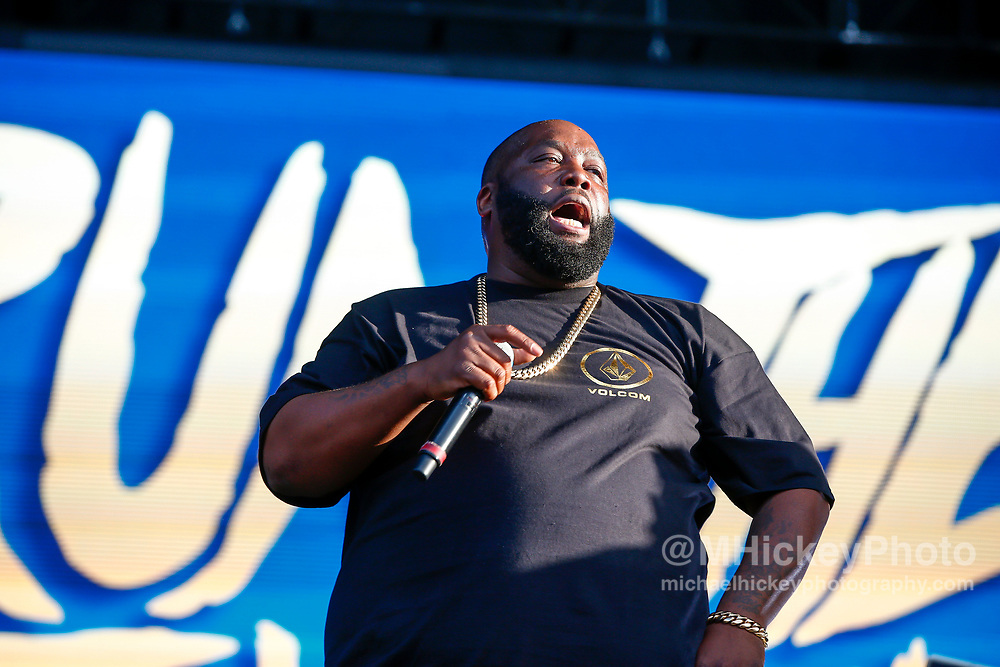 CHICAGO, IL - AUGUST 04: Killer Mike of Run the Jewels performs at Grant Park on August 4, 2017 in Chicago, Illinois. (Photo by Michael Hickey/Getty Images) *** Local Caption *** Killer Mike