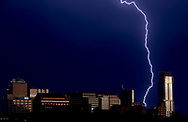 Lightning illuminates the sky on Sunday, June 9, 2019, in Austin, Texas. [NICK WAGNER/AMERICAN-STATESMAN]