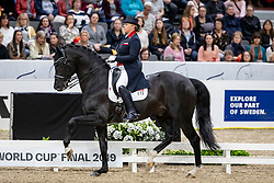 Isachkina Regina, RUS, Sun of May Life<br /> LONGINES FEI World Cup™ Finals Gothenburg 2019<br /> © Hippo Foto - Stefan Lafrentz<br /> 05/04/2019