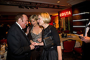 Andrew Neil; Penny Smith; Mariela Frostrup, The Costa Book of the Year Award at the Costa Book Awards. The Intercontinental Hotel, Hamilton Place. London. 27 January 2009 *** Local Caption *** -DO NOT ARCHIVE -Copyright Photograph by Dafydd Jones. 248 Clapham Rd. London SW9 0PZ. Tel 0207 820 0771. www.dafjones.com<br /> Andrew Neil; Penny Smith; Mariela Frostrup, The Costa Book of the Year Award at the Costa Book Awards. The Intercontinental Hotel, Hamilton Place. London. 27 January 2009