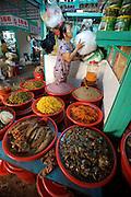 Cholon (Chinatown). Binh Tay Market. Fermented seafood.
