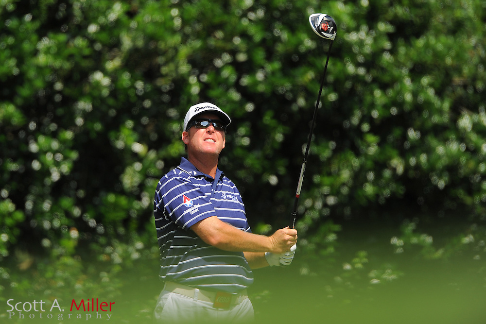 D.A. Points during the third round of the Wells Fargo Championship at the Quail Hollow Club on May 5, 2012 in Charlotte, N.C. ..©2012 Scott A. Miller.