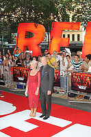 Helen Mirren; Bruce Willis, Red 2 European Film Premiere, Empire cinema Leicester Square, London UK, 22 July 2013, (Photo by Richard Goldschmidt)