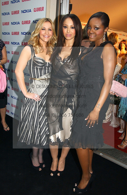 Pop group The Sugababes at the 2006 Glamour Women of the Year Awards 2006 held in Berkeley Square Gardens, London W1 on 6th June 2006.<br /><br />NON EXCLUSIVE - WORLD RIGHTS