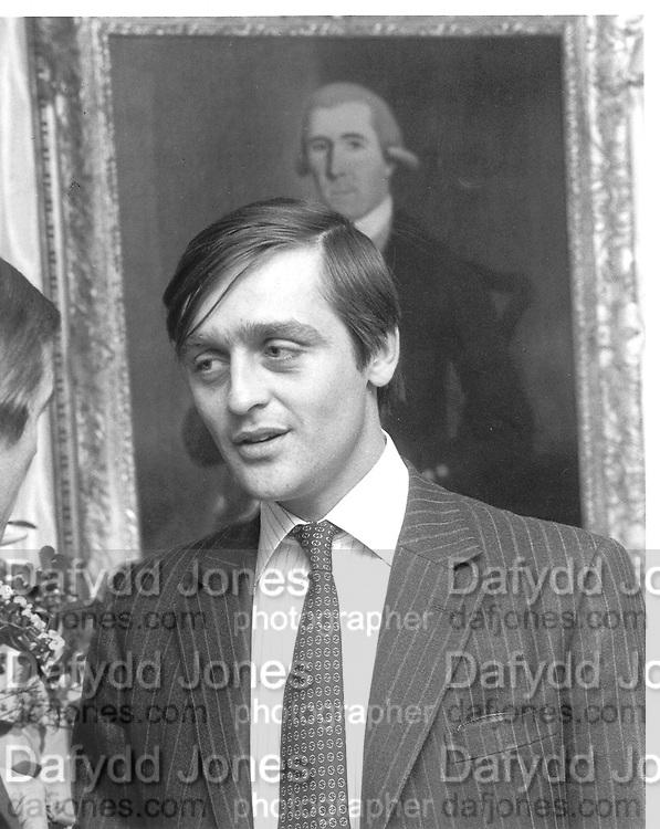Duke of Westminster. 13/12/83© Copyright Photograph by Dafydd Jones 66 Stockwell Park Rd. London SW9 0DA Tel 020 7733 0108 www.dafjones.com
