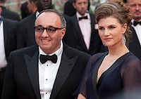 Actress Maryana Spivak and producer Alexander Rodnyansky at the Loveless (Nelyubov) gala screening,  at the 70th Cannes Film Festival Thursday May 18th 2017, Cannes, France. Photo credit: Doreen Kennedy