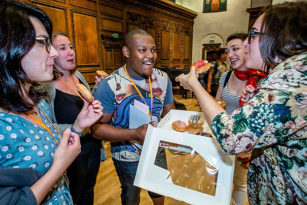 The Sistema England Young Leaders are the most skilled and committed young musicians from In Harmony Lambeth, In Harmony Liverpool, In Harmony Newcastle, In Harmony Telford, Sistema in Norwich and The Nucleo Project, coming together to create a vibrant nationwide orchestra while developing leadership and life skills. Winchester,<br />  August 2017. (Photos/Ivan Gonzalez)