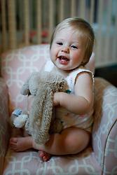 Gemma Marie Palmer at 10 months, standing, crawling, cruising, Monday, July 02, 2018  at Cedar Shake Shack in Louisville.