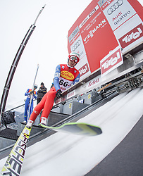 17.01.2014, Casino Arena, Seefeld, AUT, FIS Nordische Kombination, Seefeld Triple, Skisprung, im Bild Akito Watabe (JPN) // Akito Watabe (JPN) during Ski Jumping at FIS Nordic Combined World Cup Triple at the Casino Arena in Seefeld, Austria on 2014/01/17. EXPA Pictures © <br /> 2014, PhotoCredit: EXPA/ JFK