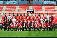 Equipe Rennes - 15.09.2015 - Photo officielle Rennes - Ligue 1 2015/2016<br /> Photo : Philippe Le Brech / Icon Sport