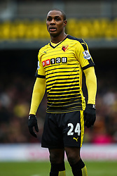 Odion Ighalo of Watford during the match - Mandatory byline: Jason Brown/JMP - 27/02//2016 - FOOTBALL - Vicarage Road - Watford, England - Watford v Bournemouth - Barclays Premier League