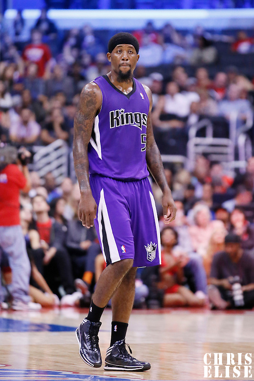 25 October 2013: Sacramento Kings small forward John Salmons (5) is seen during the Sacramento Kings 110-100 victory over the Los Angeles Clippers at the Staples Center, Los Angeles, California, USA.