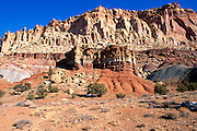 The Waterpocket Fold near Grand Gulch, Capitol Reef National Park, Utah