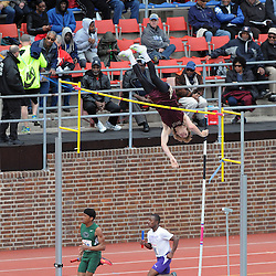 Staff photos by Tom Kelly IV<br /> The 121st running of the Penn Relays at Franklin Field in Philadelphia.