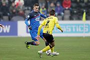 (L-R) *Mats Seuntjens* of AZ Alkmaar, *Moreno Rutten* of VVV Venlo