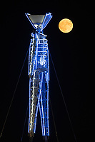 Quite a challenge to make a photo like this. You have to shoot the image of the moon and the man separetely because it's impossible to get them both perfectly in focus in-camera. My Burning Man 2018 Photos:<br /> https://Duncan.co/Burning-Man-2018<br /> <br /> My Burning Man 2017 Photos:<br /> https://Duncan.co/Burning-Man-2017<br /> <br /> My Burning Man 2016 Photos:<br /> https://Duncan.co/Burning-Man-2016<br /> <br /> My Burning Man 2015 Photos:<br /> https://Duncan.co/Burning-Man-2015<br /> <br /> My Burning Man 2014 Photos:<br /> https://Duncan.co/Burning-Man-2014<br /> <br /> My Burning Man 2013 Photos:<br /> https://Duncan.co/Burning-Man-2013<br /> <br /> My Burning Man 2012 Photos:<br /> https://Duncan.co/Burning-Man-2012
