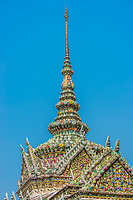 chedi rooftop detail grand palace Bangkok Thailand