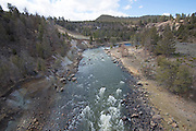 USA, Wyoming, Lamar River, Yellowstone National Park