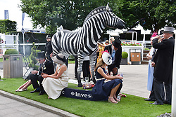 Atmosphere at The Investec Derby, Epsom Racecourse, Epsom, Surrey, England. 02 June 2018.