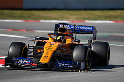 February 26, 2019 - Montmelo, BARCELONA, Spain - BARCELONA, SPAIN, 26th of February 2019. #4 Lando NORRIS driver of McLaren F1 team during the winter test at Circuit de Barcelona Catalunya. (Credit Image: © AFP7 via ZUMA Wire)
