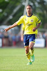 Bristol City's Bobby Reid - Photo mandatory by-line: Dougie Allward/JMP - Tel: Mobile: 07966 386802 03/07/2013 - SPORT - FOOTBALL - Bristol -  Ashton and Backwell United V Bristol City - Pre Season Friendly