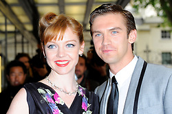 Dan Stevens & Susie Hariet during 'Summer In February' Gala Screening<br /> London, United Kingdom<br /> Monday, 10th June 2013<br /> Picture by Chris Joseph / i-Images