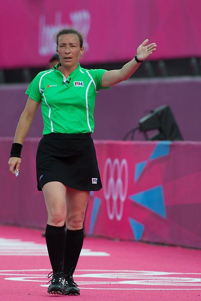 Olympics 2012, hockey, umpire Claire Adenot