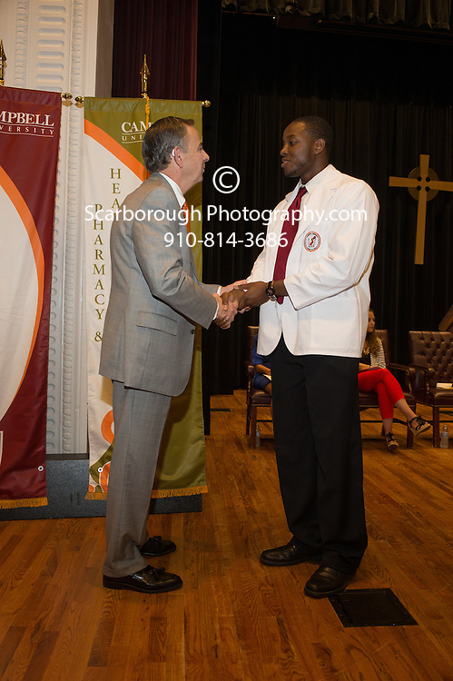 Campbell University College of Pharmacy and Health Sciences P1 White Coat Ceremny
