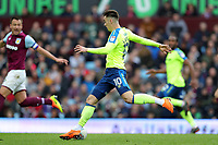 Aston Villa v Derby County - Sky Bet Championship<br /> BIRMINGHAM, ENGLAND - APRIL 28 :  Derby County's Tom Lawrence goes on the attack at Villa Park