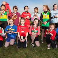 Girls U10 top 12,<br /> 1st Ellen Casey (KIB)<br /> 2nd Michelle Healy (Marian)<br /> 3rd Caoimhe Cahill (St Cronins)<br /> 4th Katie Frawley (KIB)<br /> 5th Gabriel Fennell (Kilmihil)<br /> 6th Emma Quin (St. Cronins)<br /> 7th Orlaith  Lillis Kilmihil)<br /> 8th Aine Lennehan (Tulla)<br /> 9th Palida Glasgow (St Cronins)<br /> 10th Tia Athewell (St Marys)<br /> 11th Deirdre Flanaghan (Kilmihil)<br /> 12th Rhianna Frawley (St Marys)