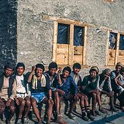 Porters near Sete, Nepal.