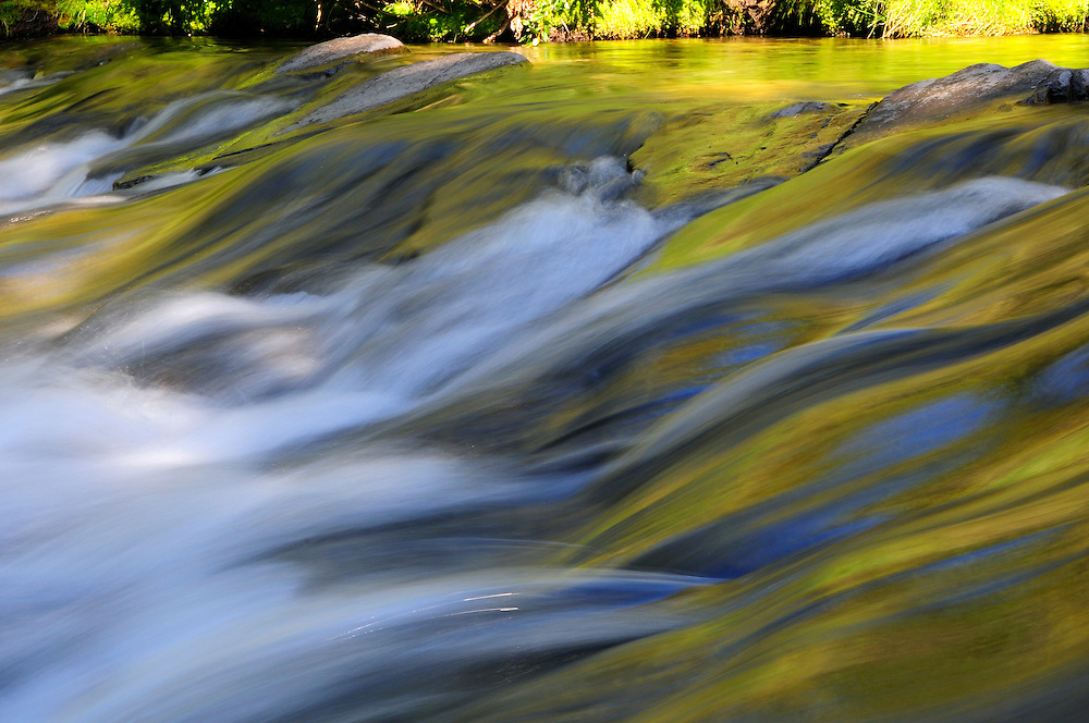 Waterfall, Livingstone River Falls Provincial Park, Alberta, Canada.