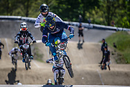 #100 (MAHIEU Romain) FRA at Round 4 of the 2018 UCI BMX Superscross World Cup in Papendal, The Netherlands