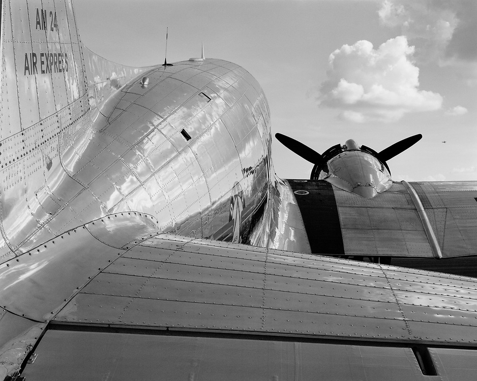Delta's restored DC-3.
